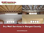 Dry Wall Services in Bergen County