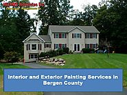 Interior and Exterior Painting Services in Bergen County