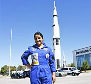 She was part of a team that secured the second position in NASA's second annual human exploration rover challenge.