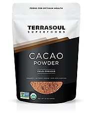 Terrasoul Superfoods Raw Organic Cacao Powder