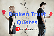 Trust and promise means everything but once it is broken sorry means nothing!!