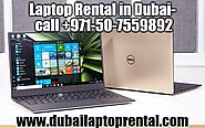 Get Top Notch Laptop Rental in Dubai