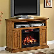 Cannes Infrared Electric Fireplace Media Console - 23MM378-O103
