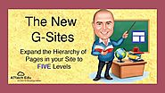 New Features of the New G-Sites - Extended Page Hierarchy - Add up to FIVE levels of pages