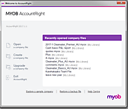 Backup and Restore Company Files in MYOB's Product: Account Right