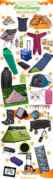 CAMPING | 30 Festival Camping Must Haves 2019 | Camping Blog Camping with Style | Active, Outdoors & Glamping Blog