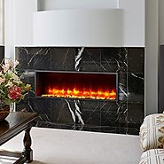 Dynasty Built-In Electric LED Fireplace