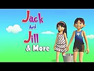 kids Rhymes: Jack and Jill went up the Hill 3D Animation English Nursery Rhymes for Children Kids Songs