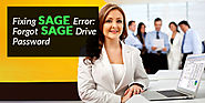Fix Forgot Sage Drive Password Call at 1800(797) 5219