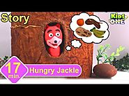 The Hungry Jackal Story Panchatantra Stories for Children 3d Animated English Stories