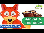 Panchatantra stories Jackal & The Drum Moral stories for Kids