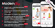ModernShop - Full Mobile Woocommerce App
