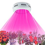 TOPL 720W UFO LED Grow Light with UV / IR - Full Spectrum Double Chips Plant Lamp for Greenhouse and Indoor Plant Flo...