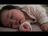 Cute baby Laughing while sleeping.mp4