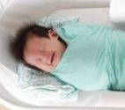 The reasons why newborn babies laugh in their s...
