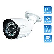 Evtevision Security Camera Sony Sensor 1080P 2 Megapixels 4-in-1 TVI/CVI/AHD/960H Evtevision Home Camera, Waterproof ...