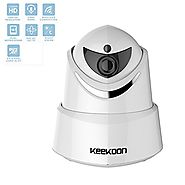 1080P HD WiFi Wireless IP Security Camera, Dome Camera Home Security Monitor System, Infrared Motion Detection, Pan, ...