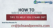 Features of writing a good Cover Letter | Jobs and Permits