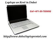 Laptops on Rent Available in Dubai