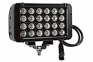 Dimmable Infrared LED Light Bar - 24 LEDs - 72 Watts - 900'L x 100'W Beam - Extreme Environment