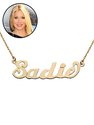 Christina Applegate's Personalized Mommy Necklace