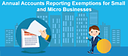 Annual Accounts Reporting Exemptions for Small and Micro Businesses