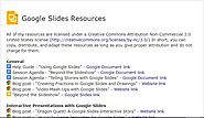 Resources Google Slides