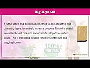 Herbal Breast Enhancement Oil to Increase Breasts Size, Shape and Appearance