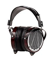 AUDEZE Lcd-4 reference over-ear headphones.