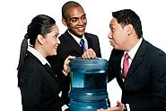 Water Coolers Help Create Better Management Relations