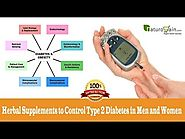 Herbal Supplements to Control Type 2 Diabetes in Men and Women
