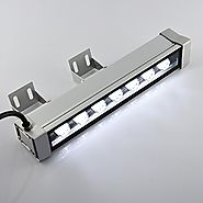 RSN LED Linear Bar Light Wall Washer 7W 6000K Cool White Color Stage Lighting Aluminum Alloy IP65 Waterproof
