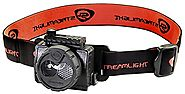 Streamlight 61601 Double Clutch USB Rechargeable Headlamp, Black