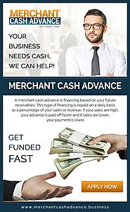 4 Best Reasons to Get Merchant Cash Advance