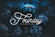 Foundry - font pack by micromove on Envato Elements