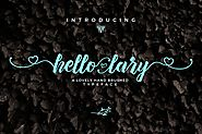 Hello Lary Font by yipianesia on Envato Elements