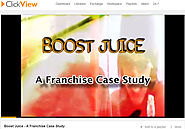 Boost Juice - A Franchise Case Study
