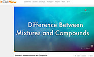 Difference Between Mixtures and Compounds