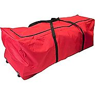 Santas Bag Pro 9 Foot Rolling Tree Storage Bag w/ Integrated Steel Frame