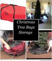 Christmas Tree Bags Storage