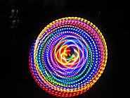 "36""- 2 Circuit - 48 Strobing/Color Changing LED Hula Hoop - ConFusion"