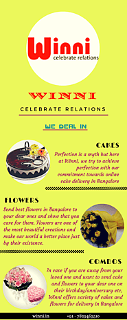 Best Cheap Cakes and Flowers at Winni