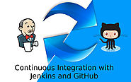 Continuous integration using Jenkins and GitHub to automate deployment