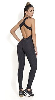 Sexy Fitted One Piece Workout Jumpsuits