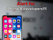 Alert for iPhone X Developers!!!!