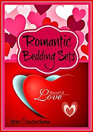 Romantic Bedding Sets - Hearts And Roses Bedding • Holiday Décor – Season Charm