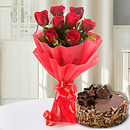 Order Birthday Flowers, Cake Online in India