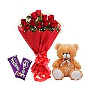 Online Flowers & Teddy Delivery in India | FlowersCakesOnline