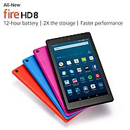 All-New Fire HD 8 Tablet, 8