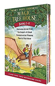 Magic Tree House Boxed Set, Books 1-4: Dinosaurs Before Dark, The Knight at Dawn, Mummies in the Morning, and Pirates...